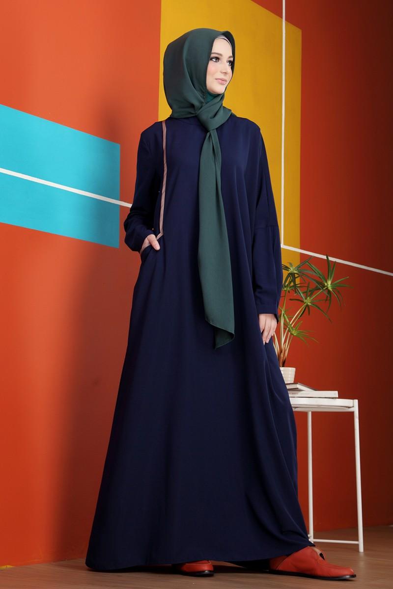 Moryba Dress Assymetric S.Blue