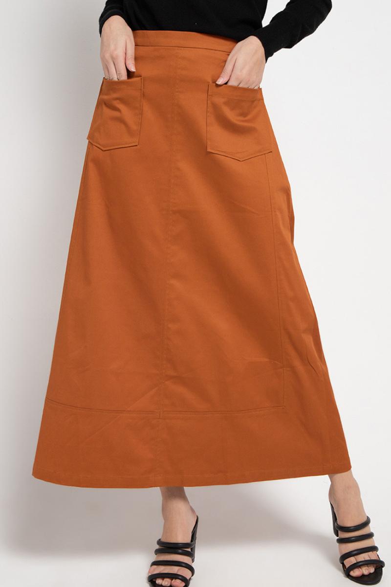 Apache Midi Skirt Terracota 0735
