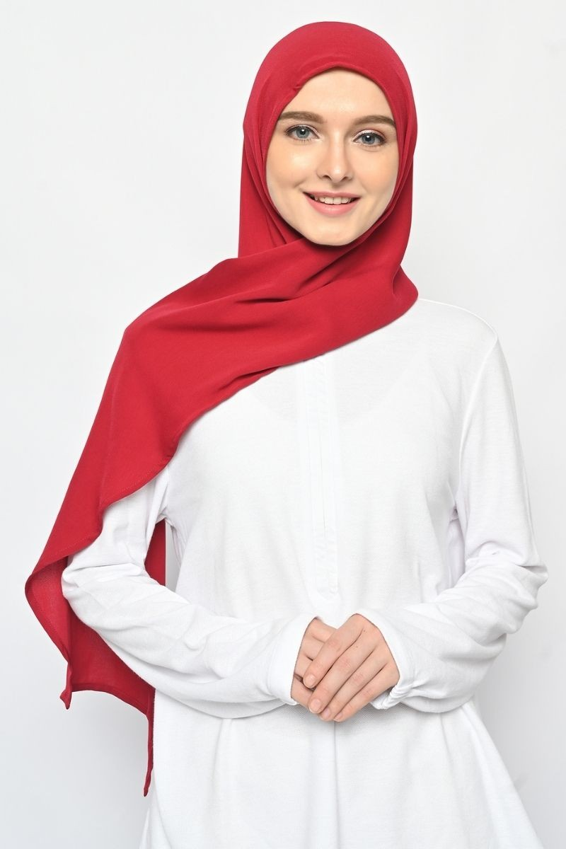 Instant Headwear LONG CAPUCHON Red