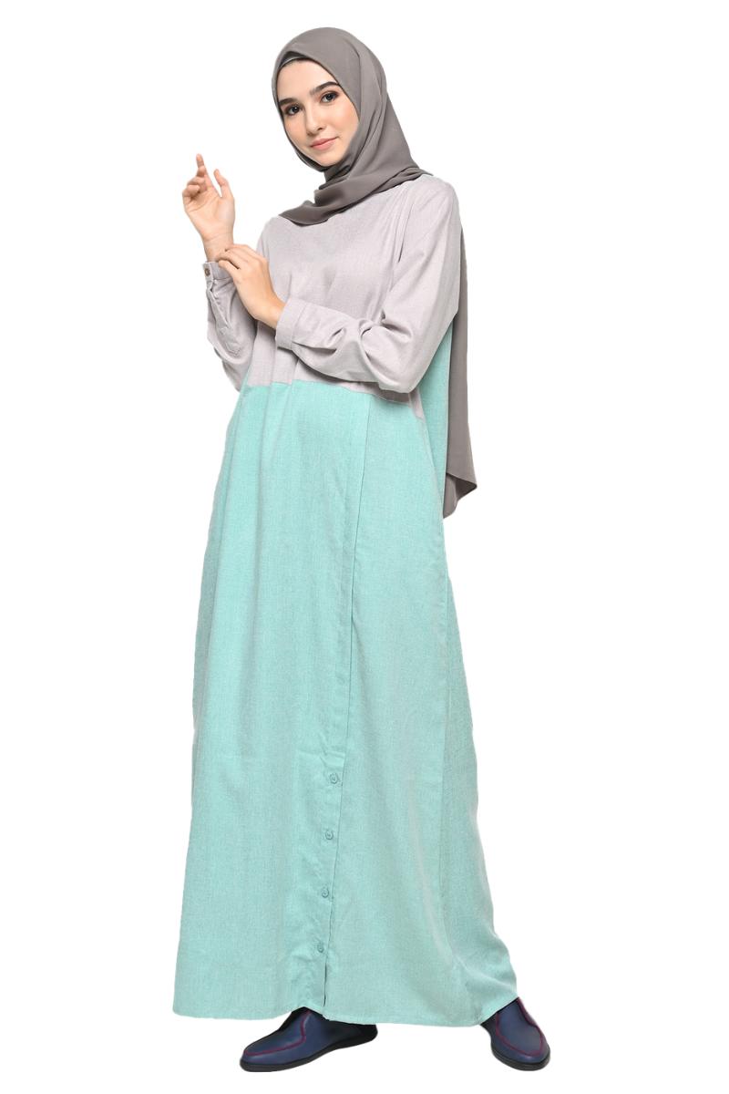 Chandler Dress 2in1 Green 0146