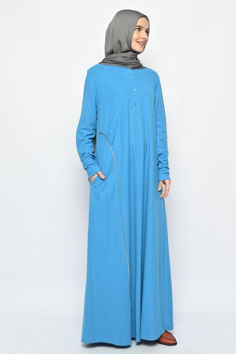 Arvel Dress Plain Blue 0321