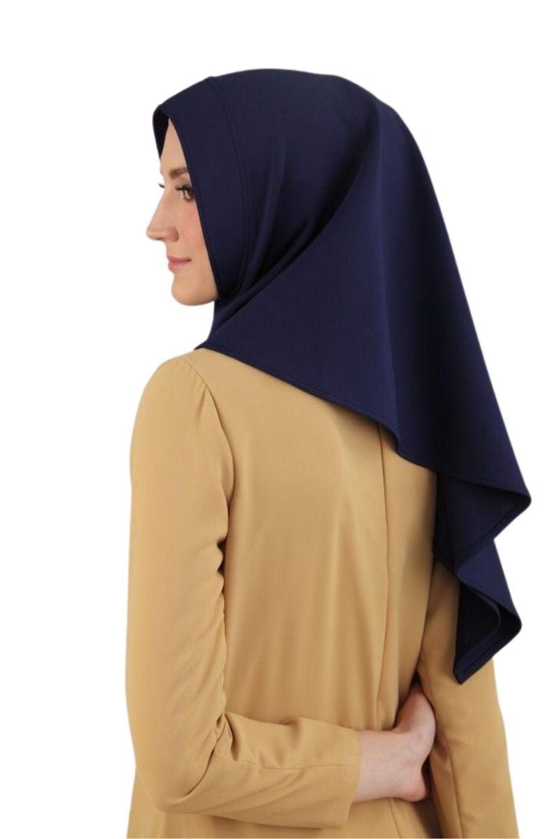 Ma.na Veil Hijab Instan Basic Rox Navy