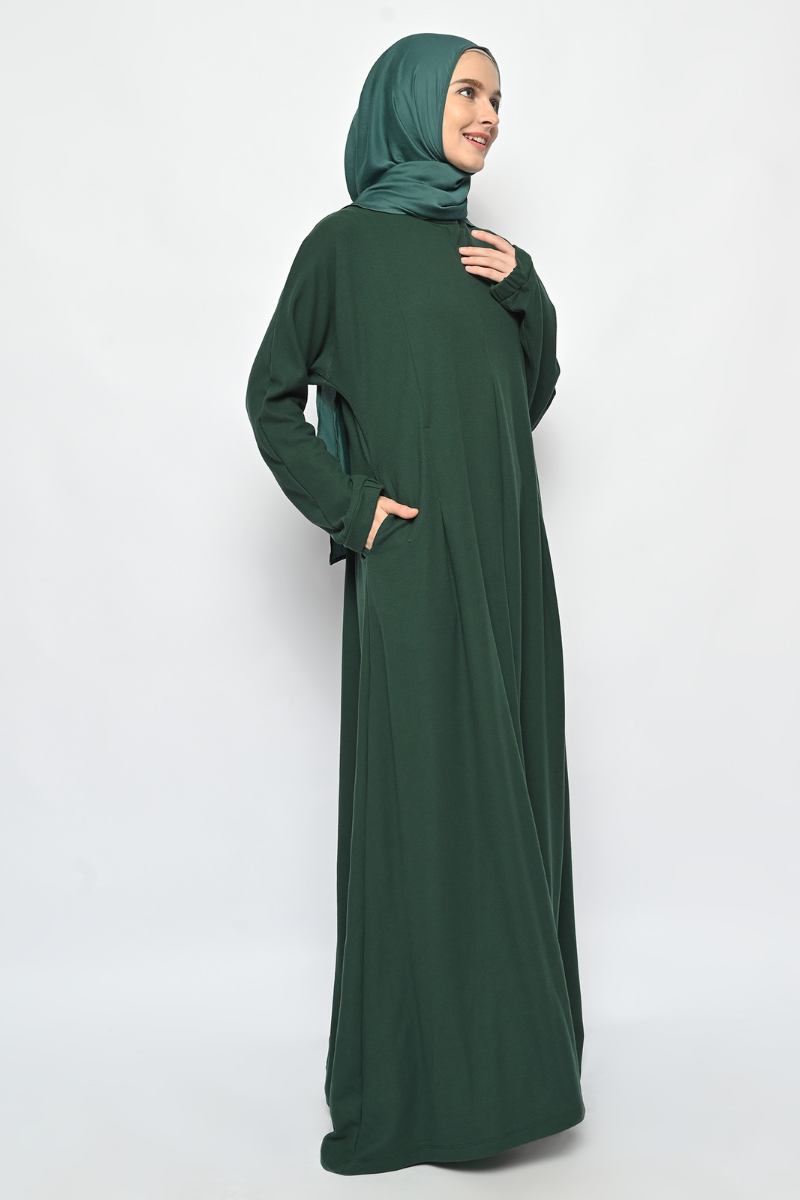 Leia Dress Royal Green