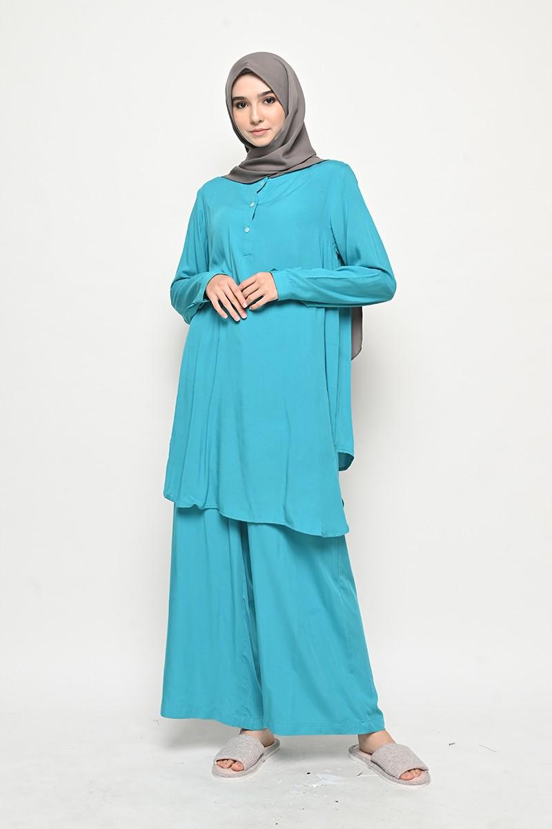 Caballo Homewear Set Turquoise