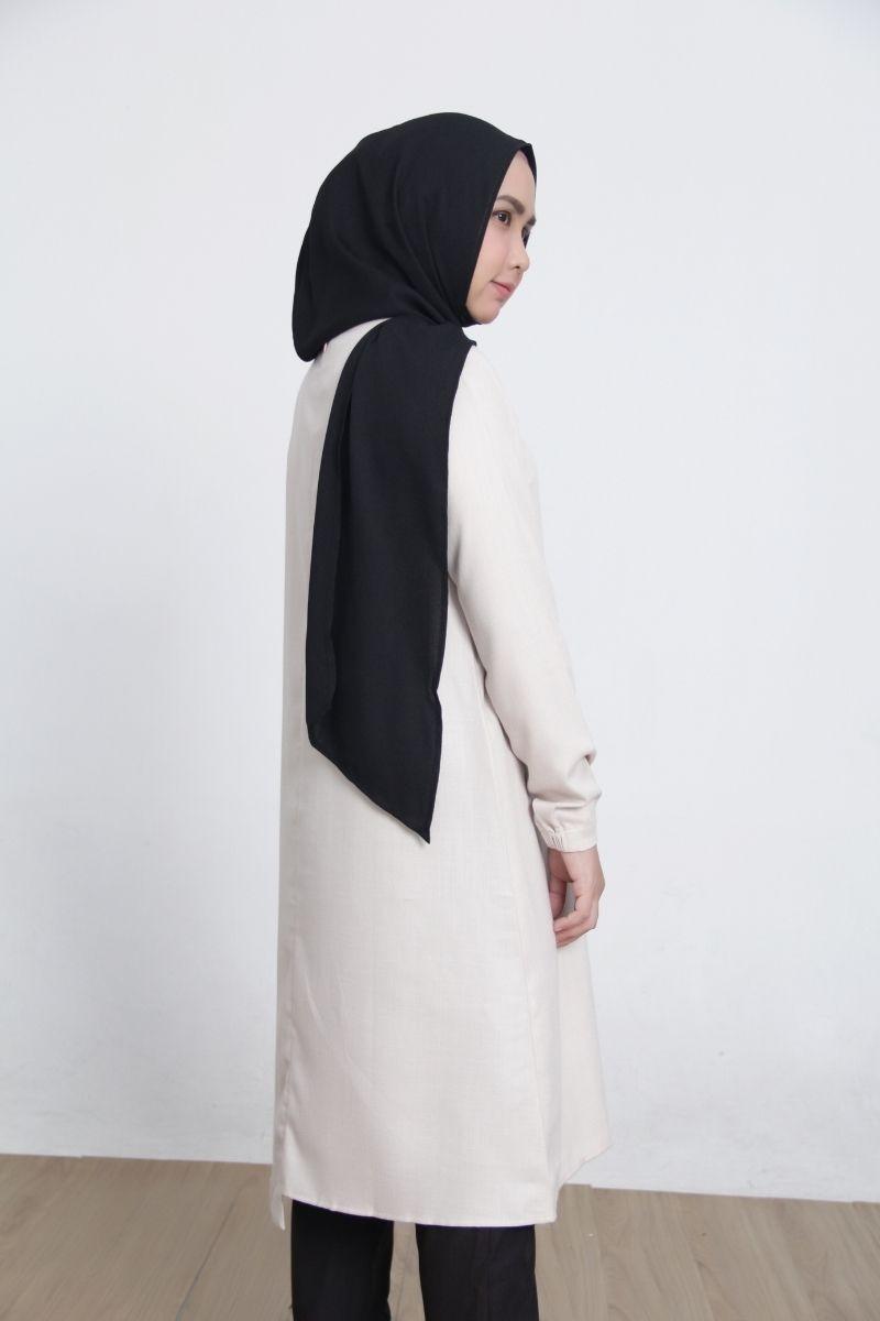 Neutral tunik plain shirt S
