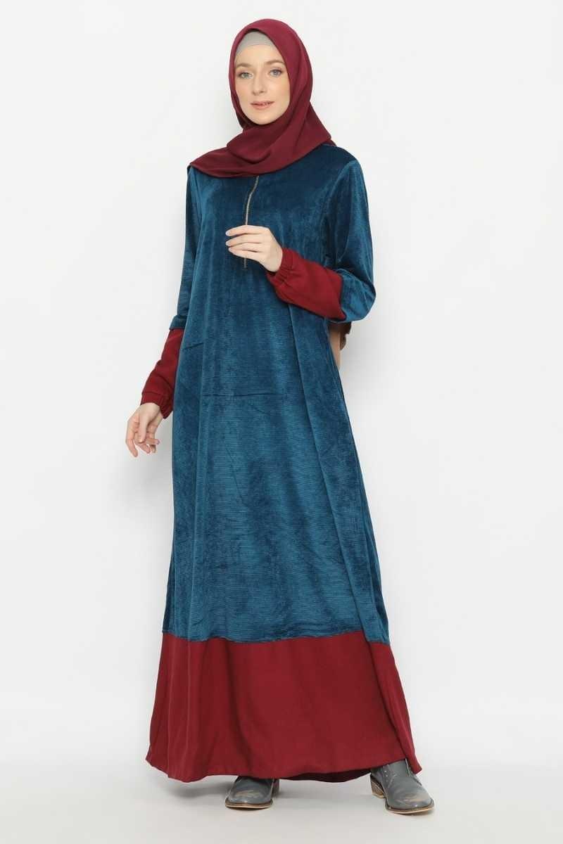 DUVILLARD DRESS Blue