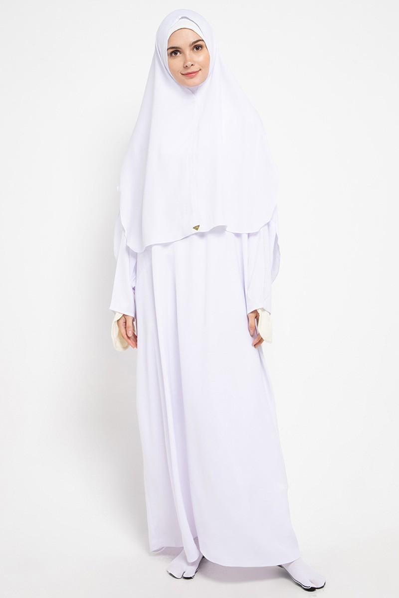 Alana Dress Set  White