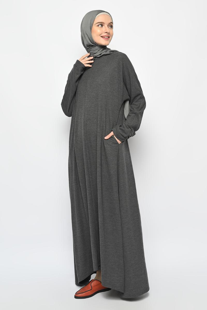 Leia Dress Dark Grey