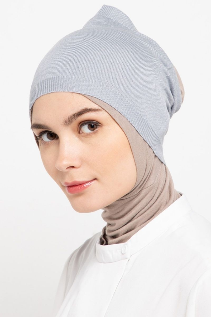 Headband Knitting Dusty Grey Nw