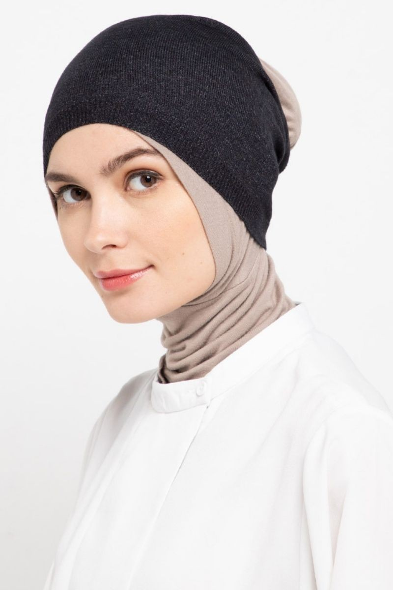Headband Knitting Black