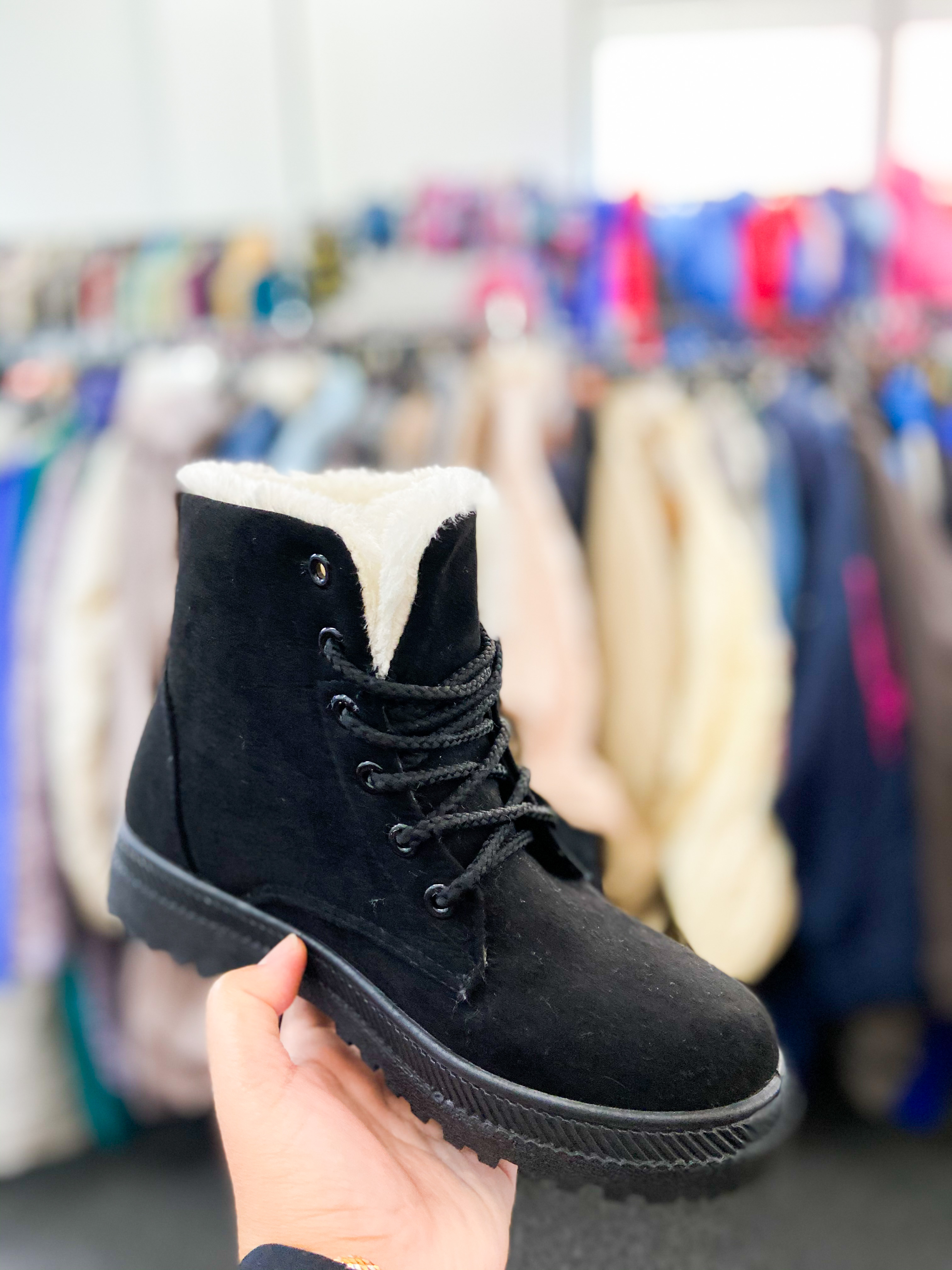 Winter shoes (anti slip, water resistant, warm & comfy sole)