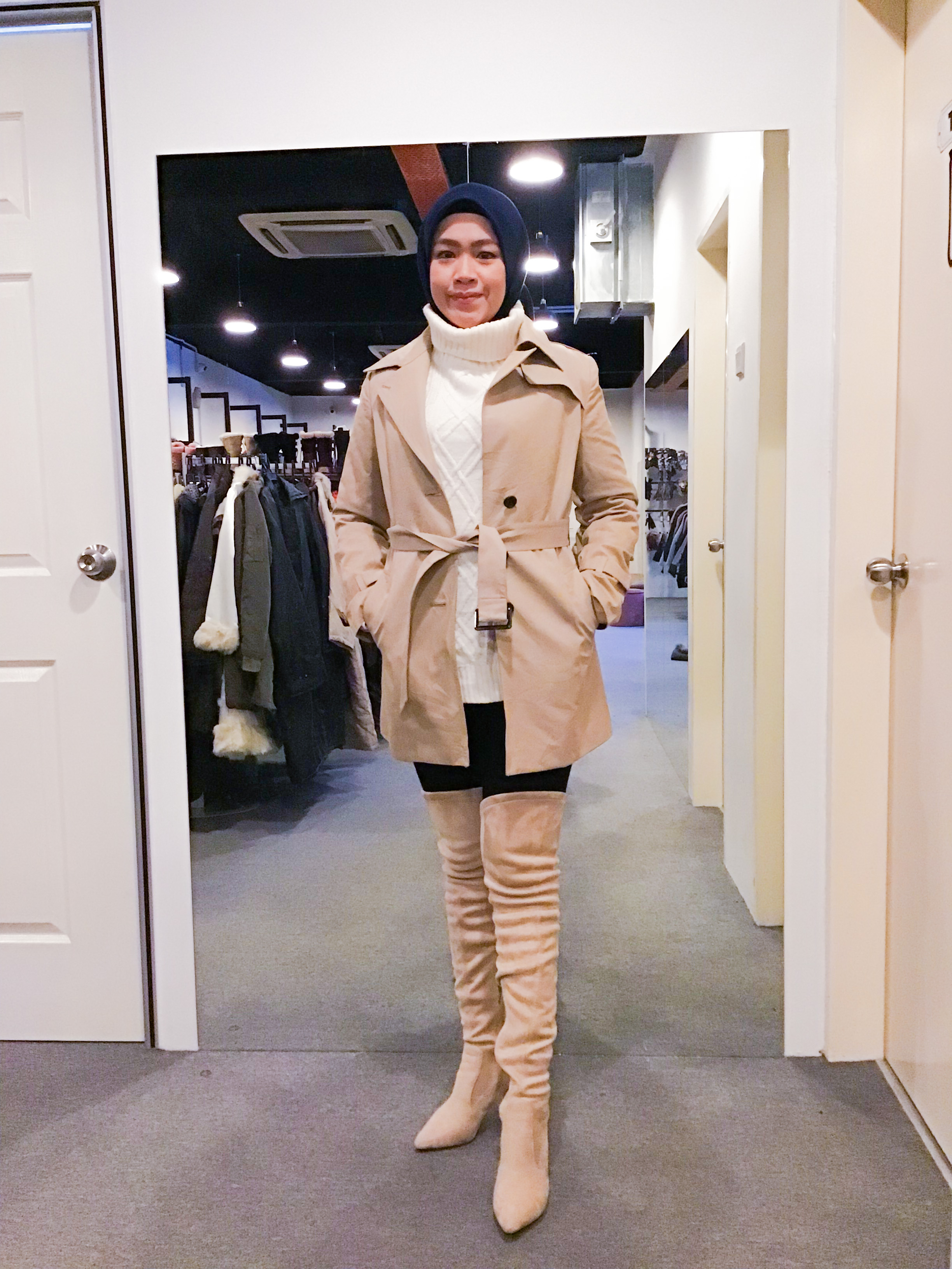 BJ1174 PROPORTION TRENCH COAT