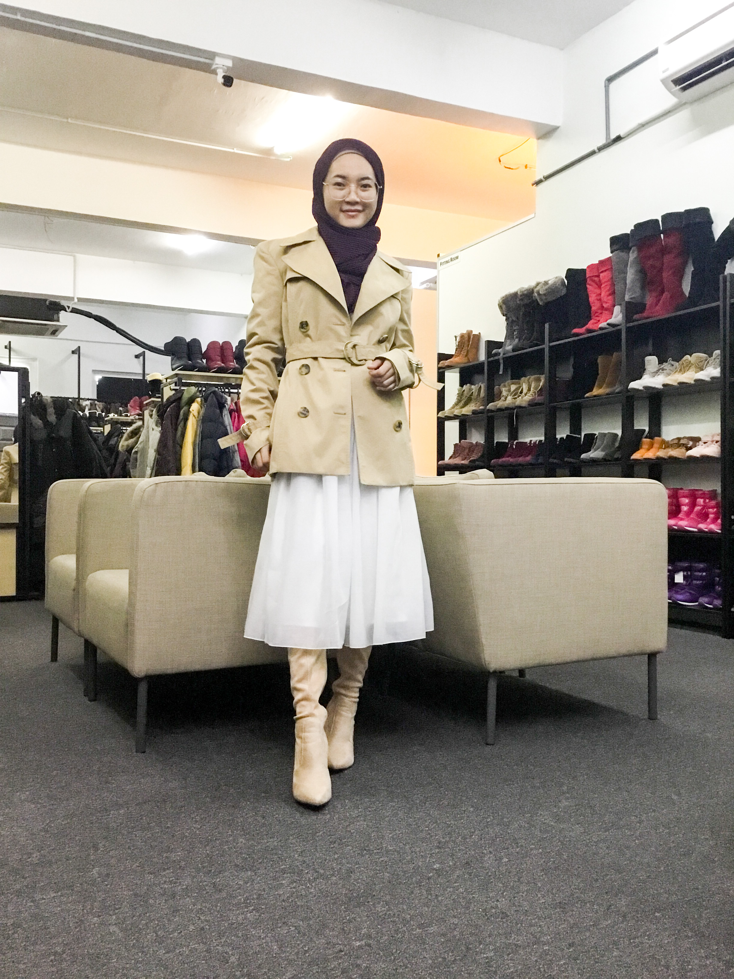 BP6688 GUCCI TRENCH COAT