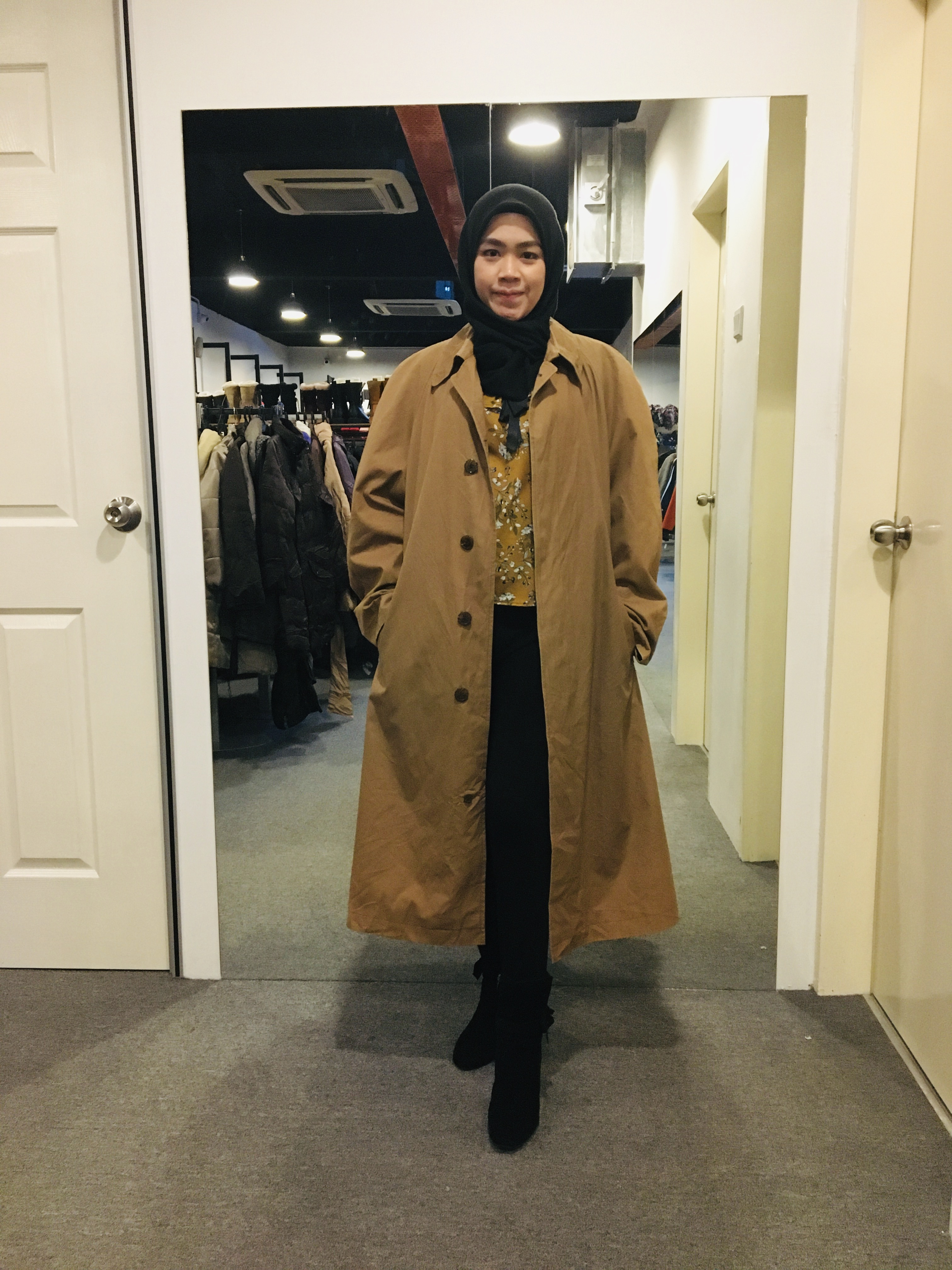 BJ0960 ANGLO FOG TRENCH COAT