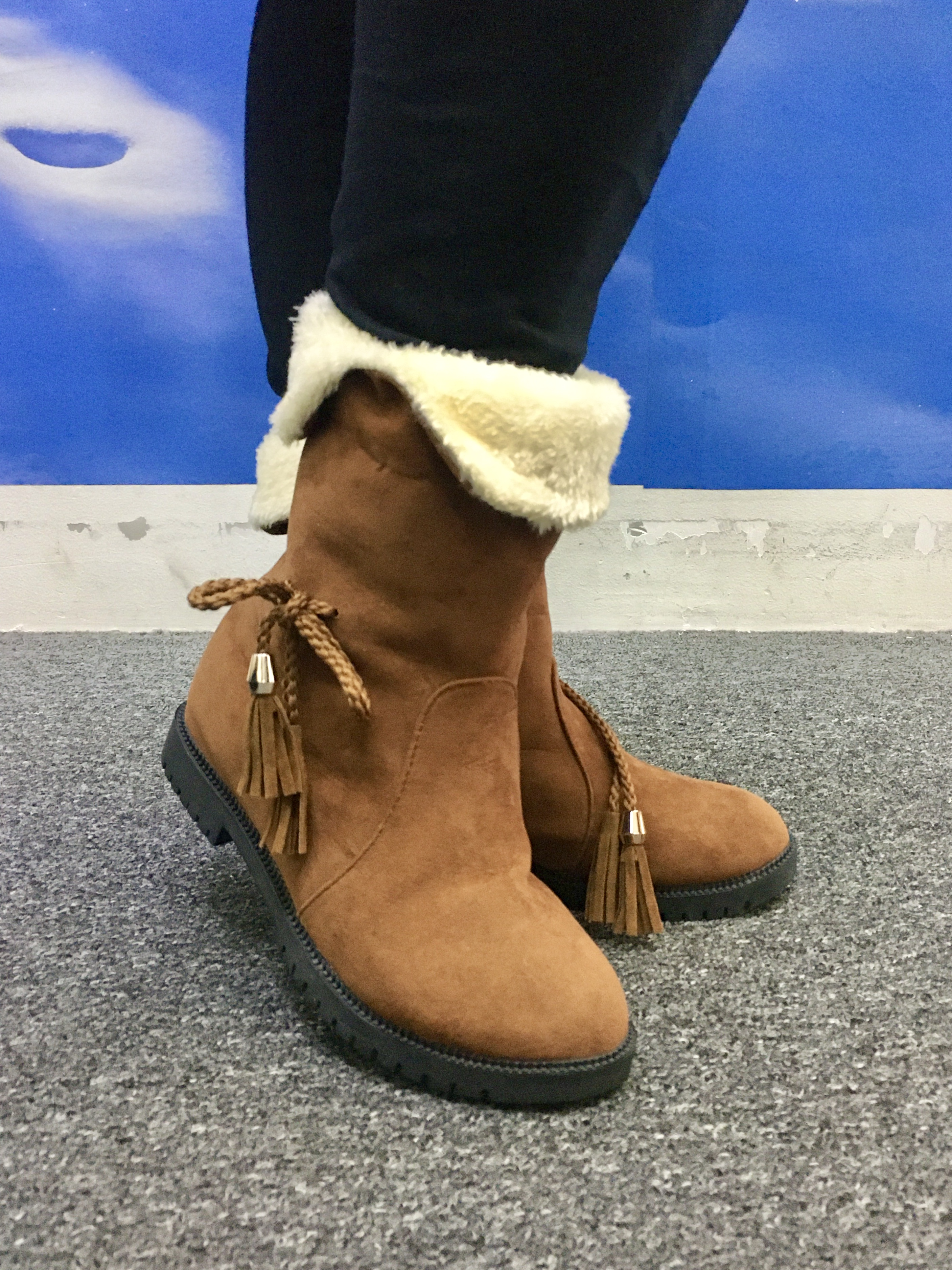 WINTER BOOTS WITH PLUSH