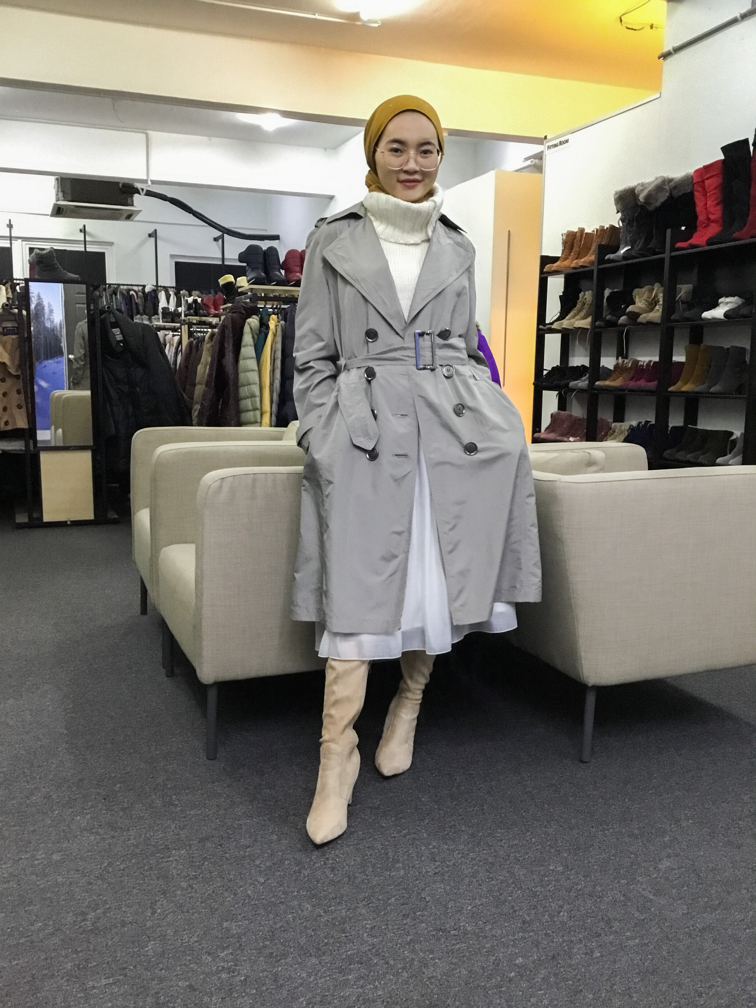 BP6469 MARIE CLAIRE TRENCH COAT