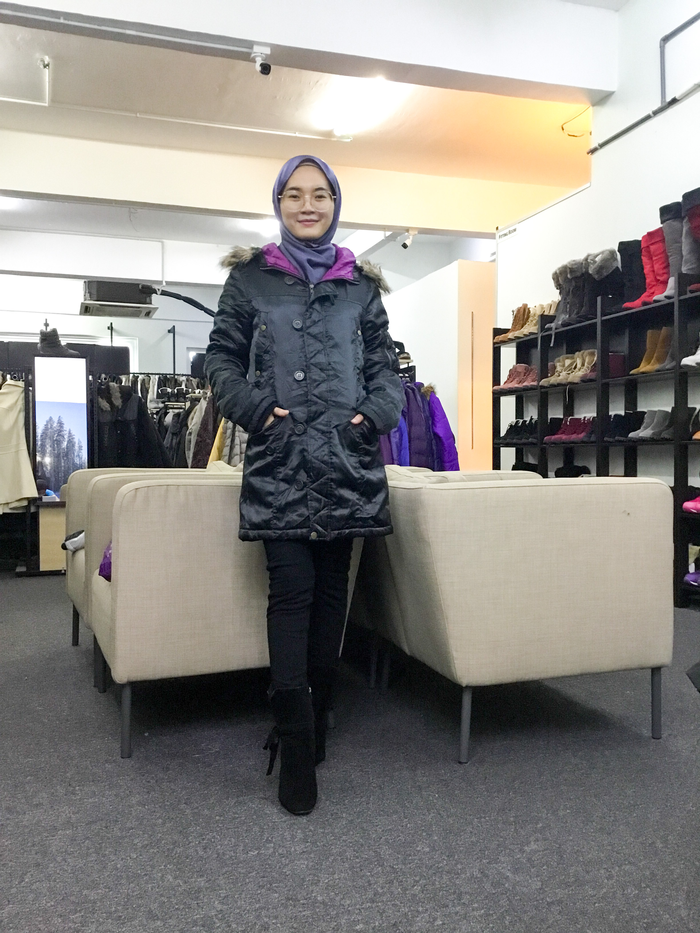 BP6736 POWER TO THE PEOPLE WINTER JACKET