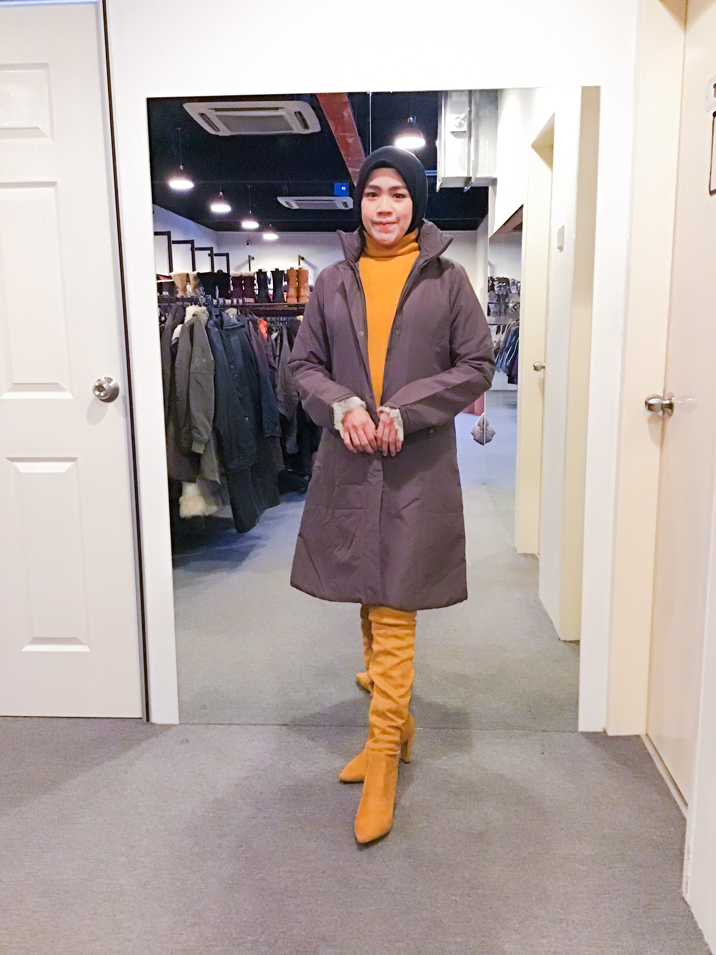 BJ1131 COMME CA ISM WINTER JACKET
