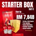 Stater Box Set C - HEDY'S OFFICIAL