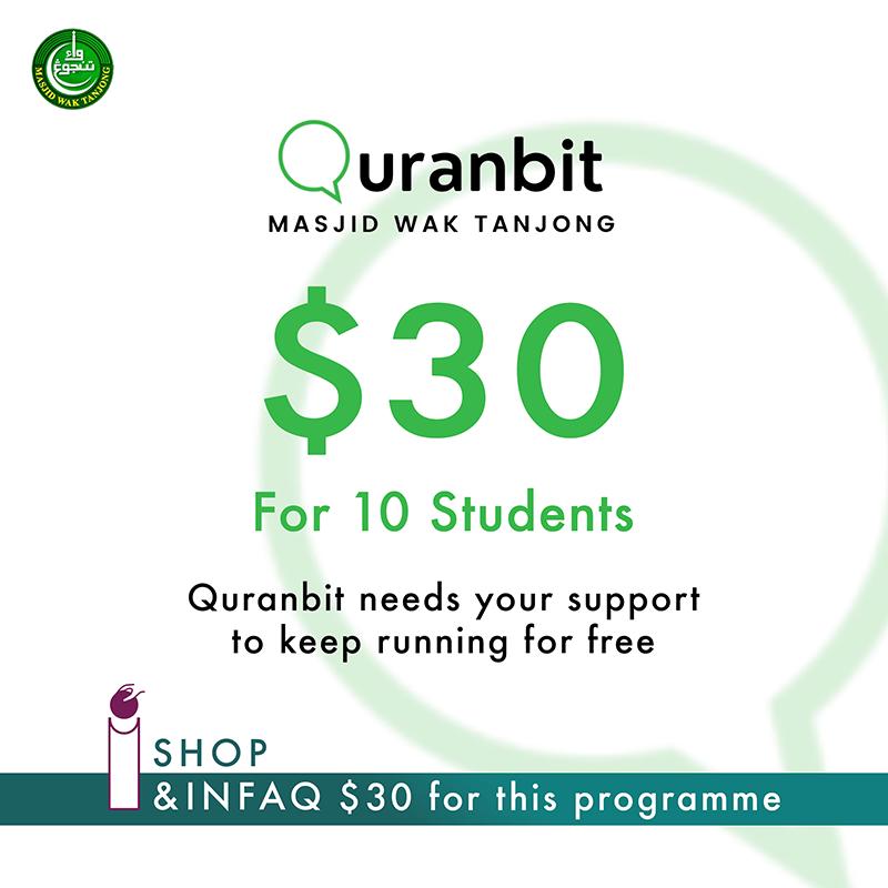 Quranbit Infaq for 10 students