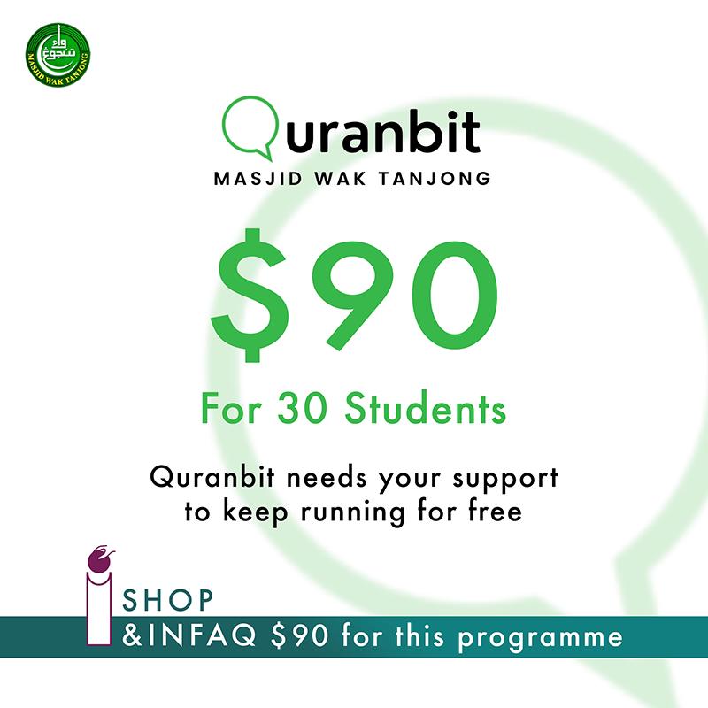 Quranbit Infaq for 30 students