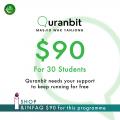 Quranbit Infaq for 30 students - InfaqBit
