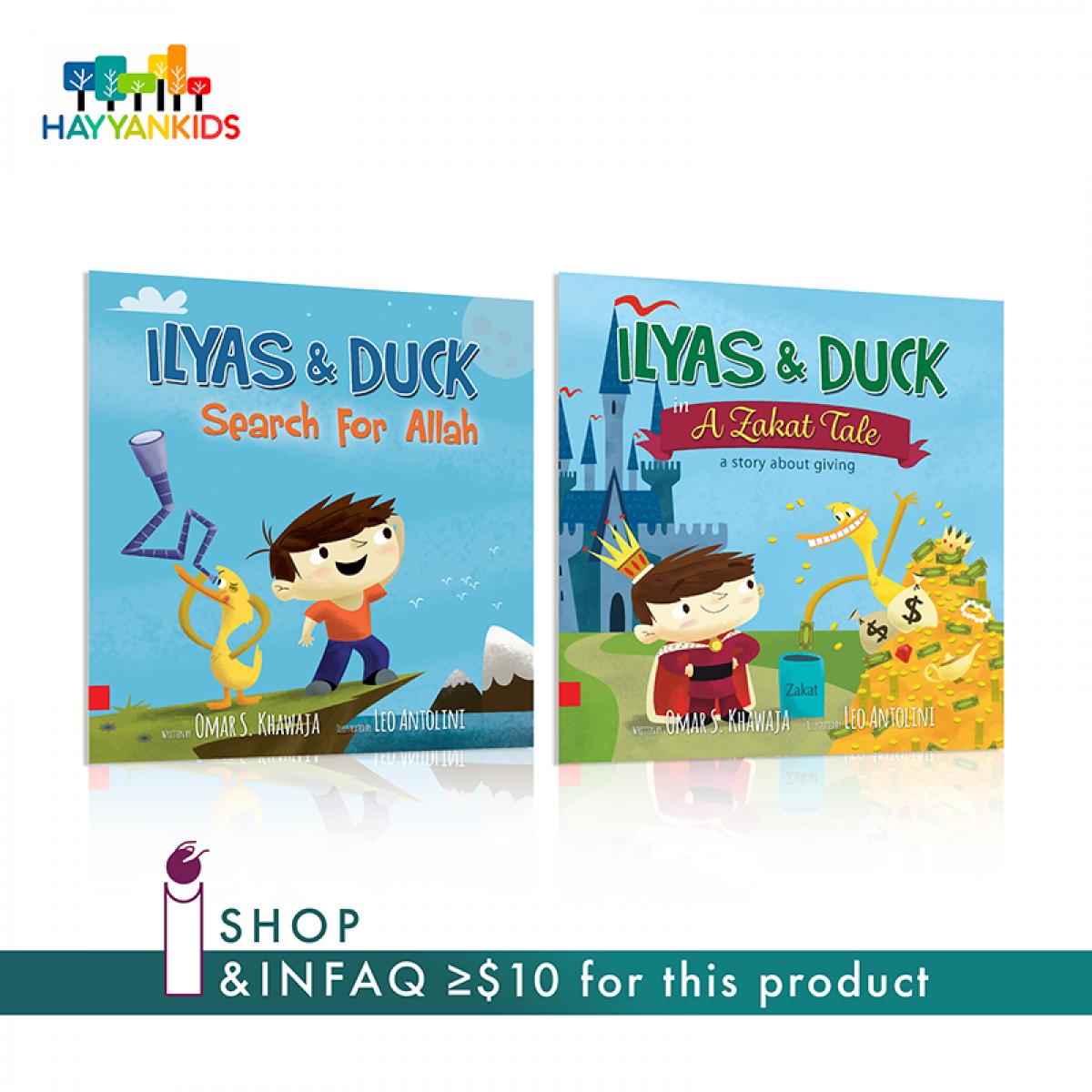 Ilyas & Duck Twin Set - InfaqBit
