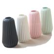 Tall Ribbed Vase - KusyaHome- Scandinavian Furniture & Decoration Online Malaysia