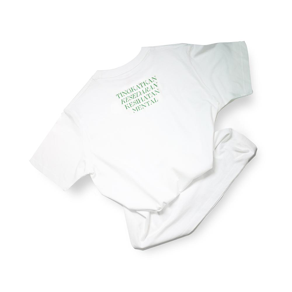 T-shirt – Slogan - Tingkatkan Kesedaran Kesihatan Mental