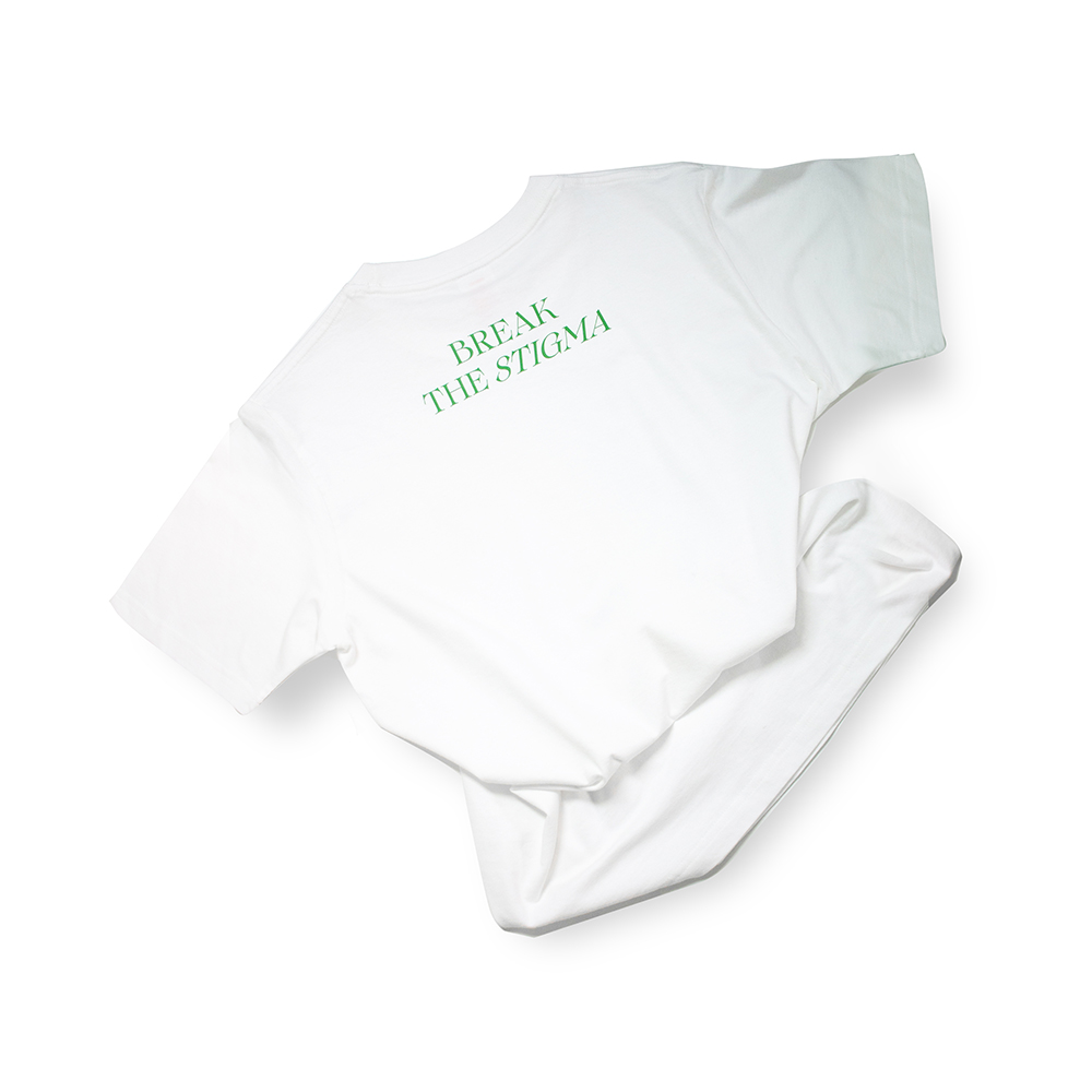 T-shirt – Slogan - Break The Stigma