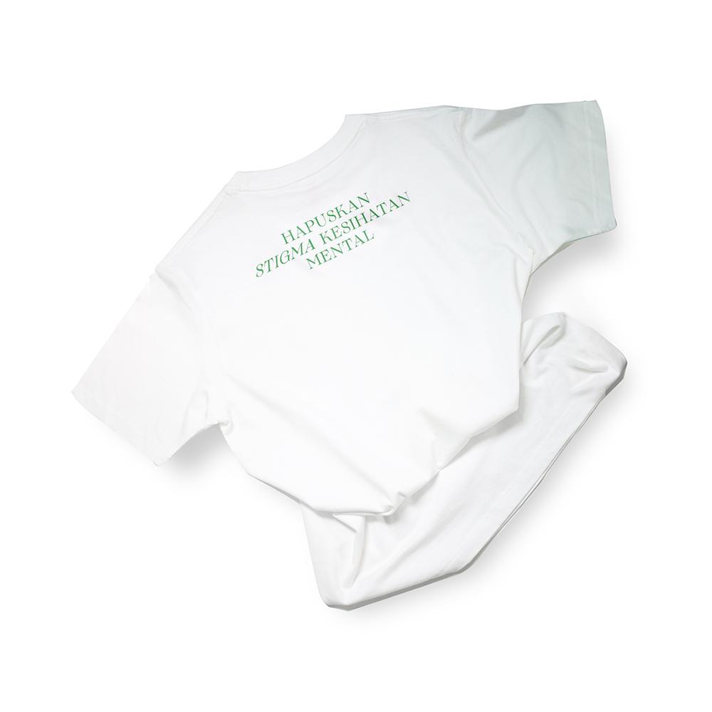 T-shirt – Slogan - Hapuskan Stigma Kesihatan Mental