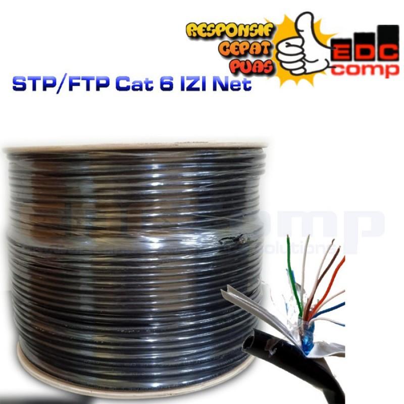 Cable STP/FTP Cat 6 Outdoor Cable 40 Meter IZI net Original - EdcComp