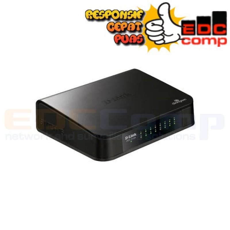 Switch Hub D-Link DLink 16 Port 10/100 DES 1016A