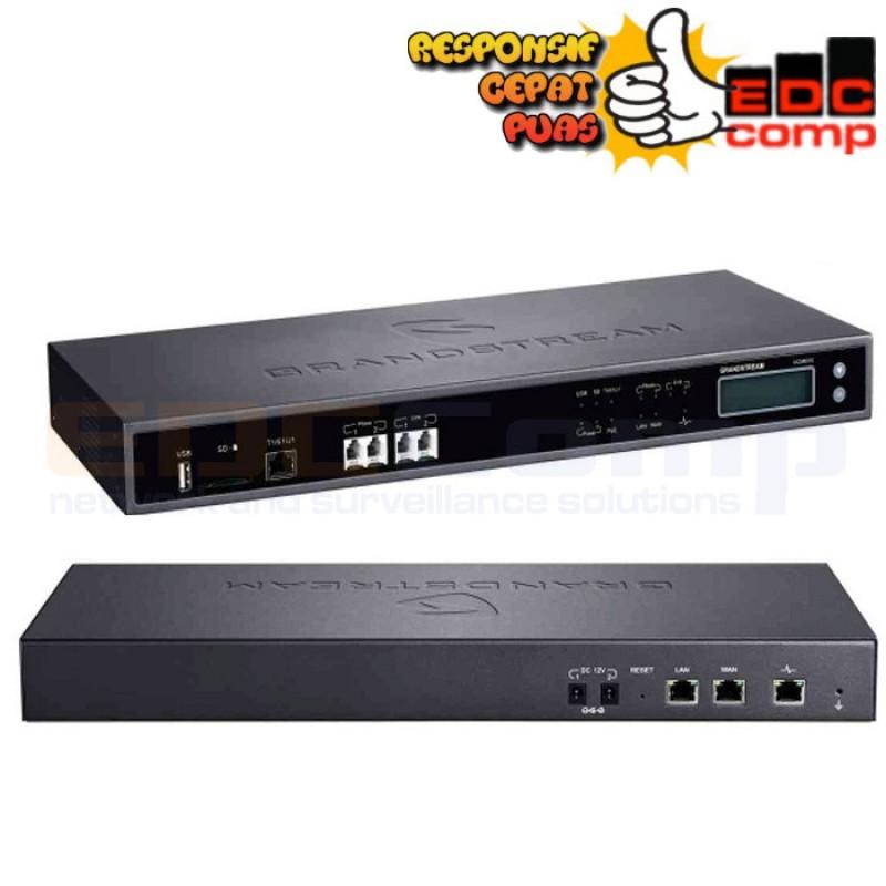 Grandstream UCM6510 IP-PBX 1T1/E1/J1 2-FXO & 2-FXS UpTo 200 Call