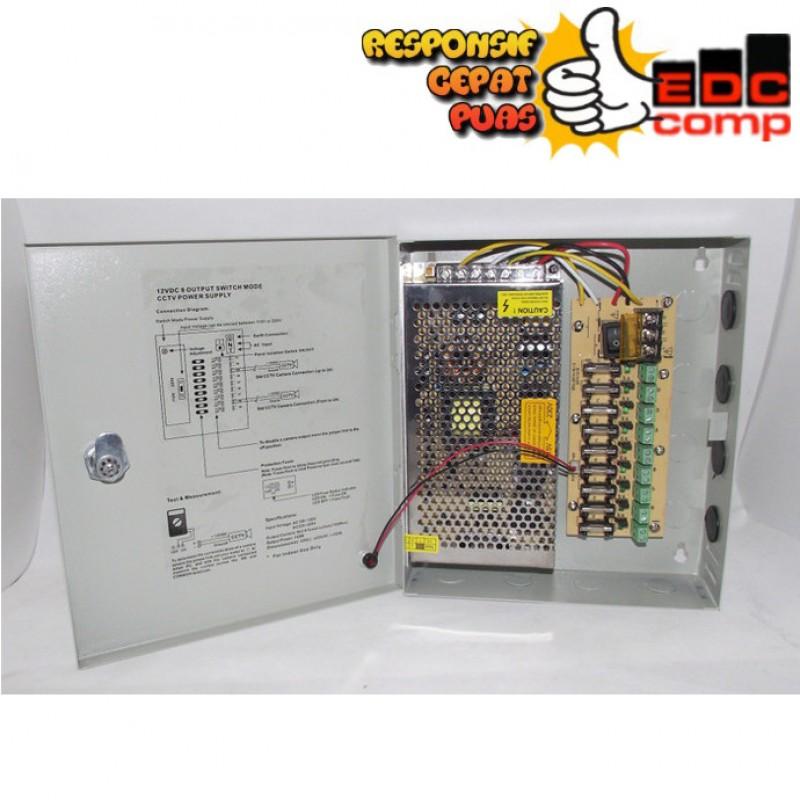 Switching Power Supply CCTV 12V 9CH