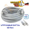 UTP Cable IZINET Cat5E 50 Meter - EdcComp