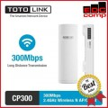 TOTO Link CP300 Wireless Outdoor 300Mbps AP/Client - EdcComp