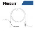 Panduit Patchcord UTP Cat 6 3 meter Warna Biru - EdcComp