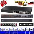 Edgecore ECS2100-28P 24 GE Ports 4 GE SFP - Web-Smart Switch Pro - EdcComp