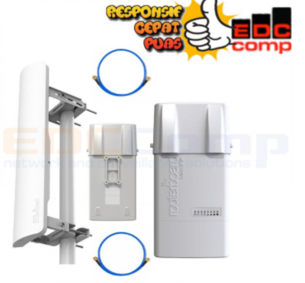 Paket Mikrotik BaseBox 5 + Sector Antenna mANT 19S MTAS-5G-19D12 - EdcComp