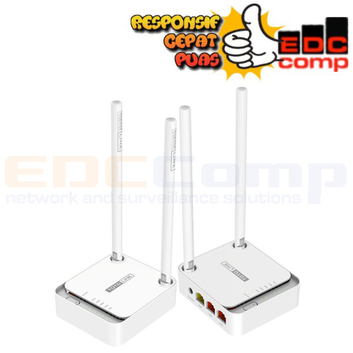 Wireless Router 300Mbps N Speed N200RE TOTO Link - EdcComp