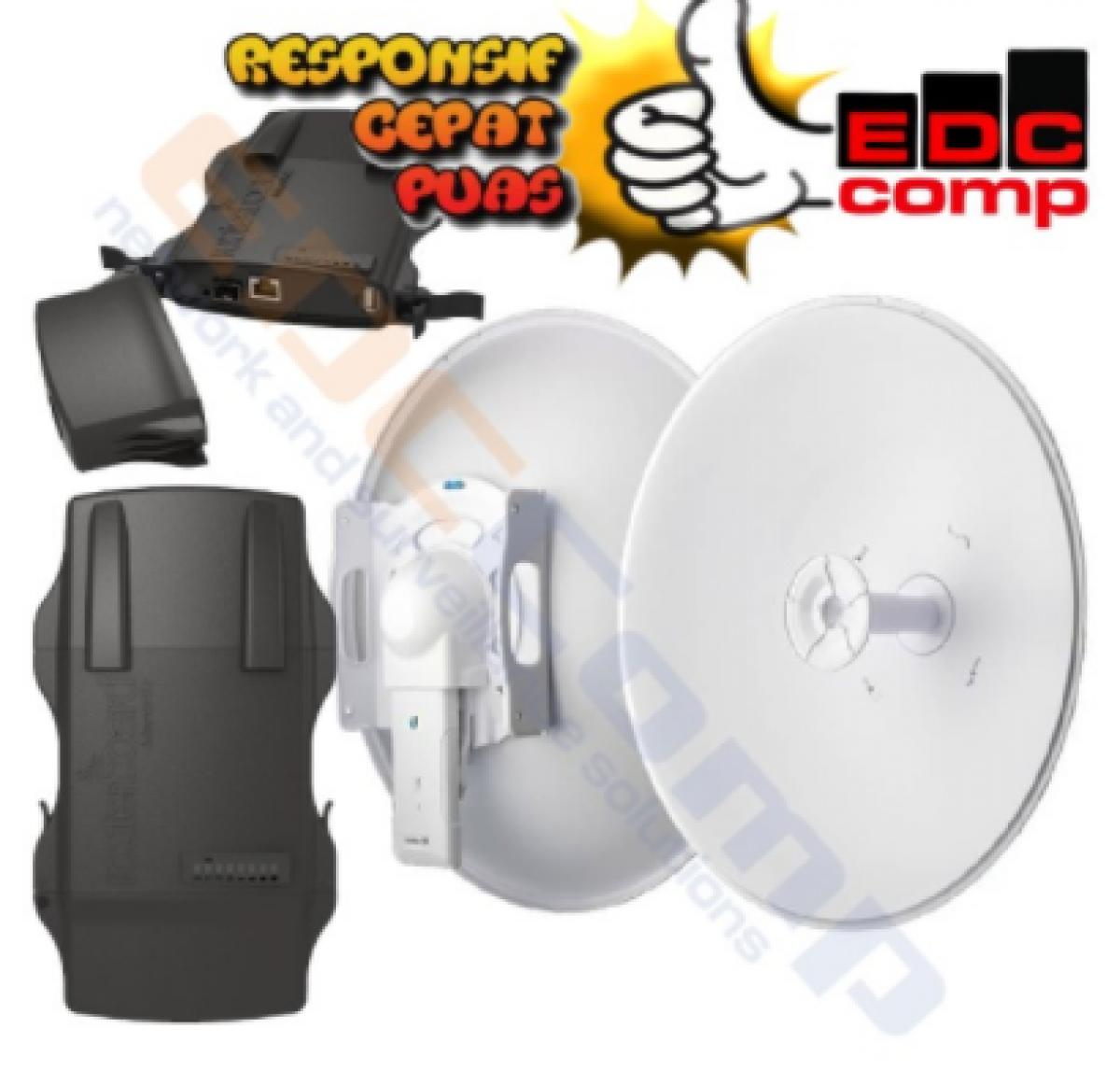 Paket MikroTik Netmetal / RB921UAGS-5SHPacD-NM + RD-5G30-LW - EdcComp