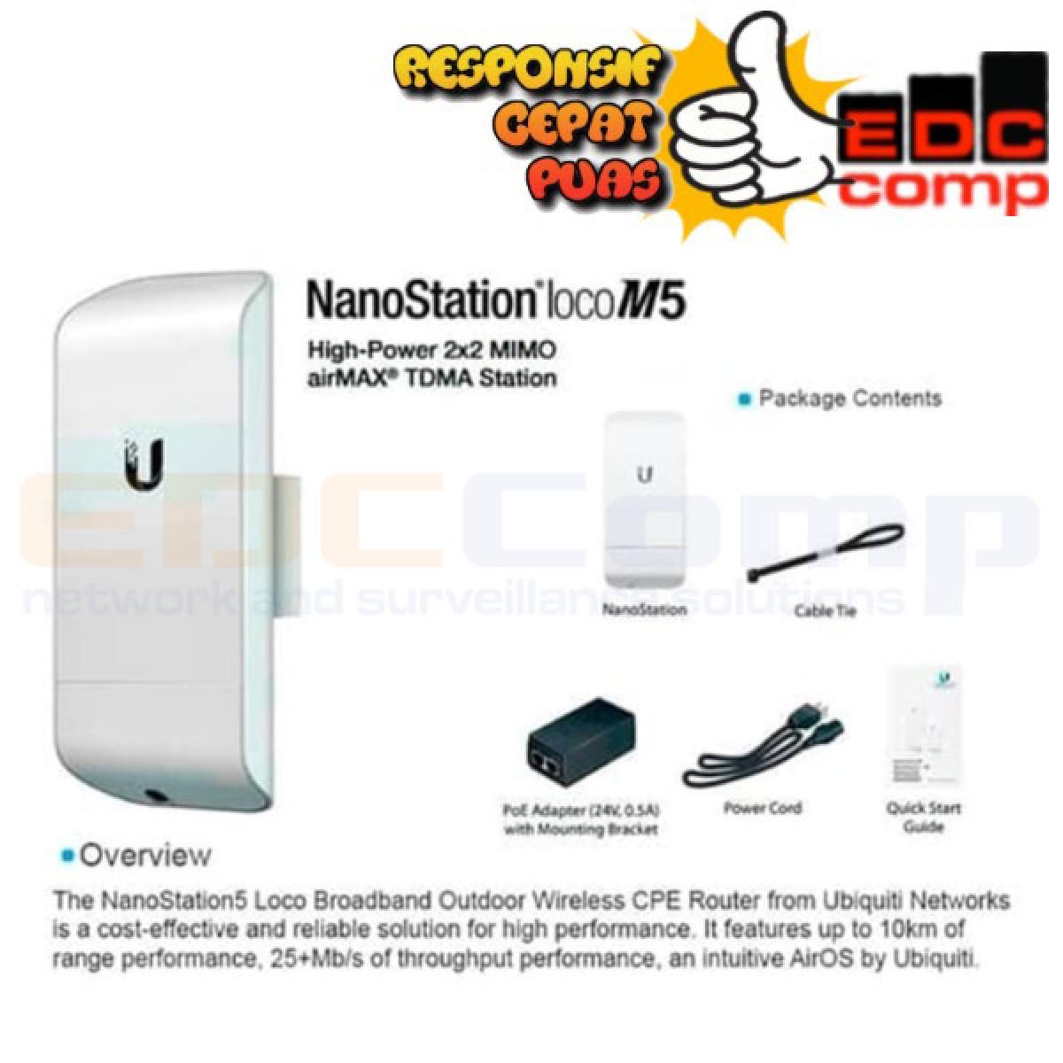 Ubiquiti Nanostaion Loco M5 - EdcComp