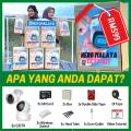 HERO MALAYA CCTV KIT BOX   MIX INDOOR & OUTDOOR WEATHER PROOF - Wireless CCTV