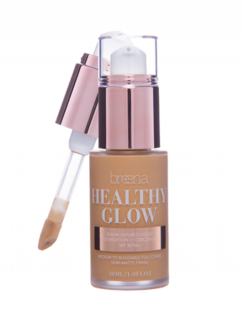 4.0 TAN Healthy Glow Liquid Foundation (Honey)