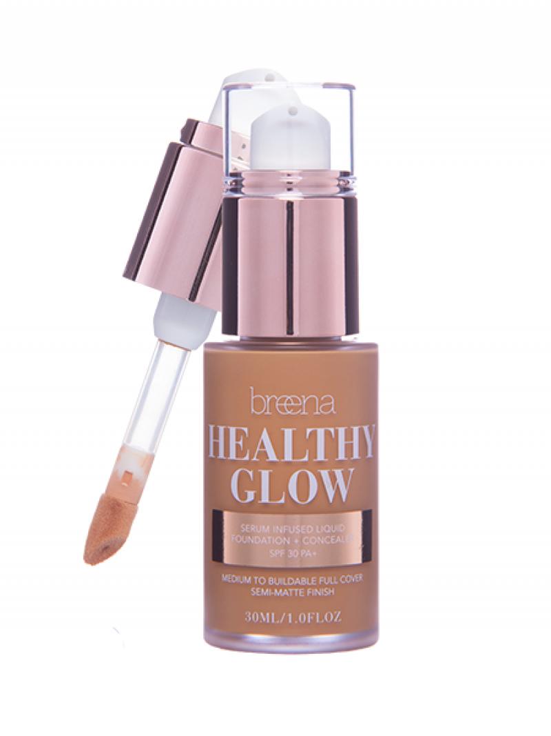 5.0 DARK Healthy Glow Liquid Foundation (Brownies)
