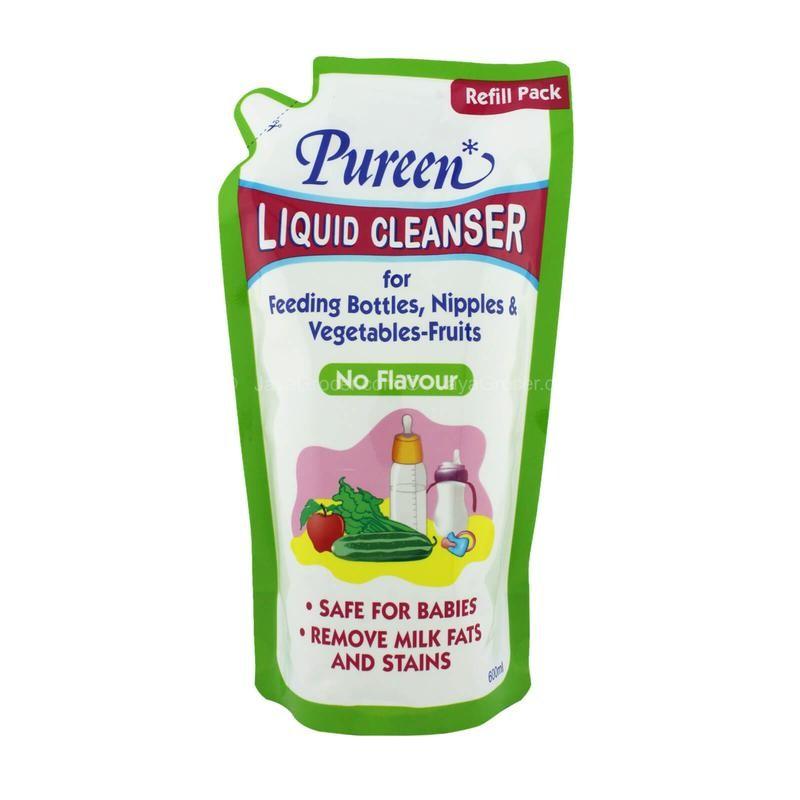 Pureen Liquid Cleanser Refill No Flavour (600ml)