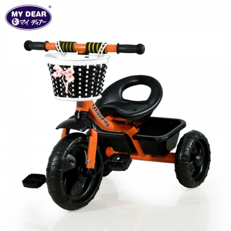 (SU7701A)Tricycle With Rear Basket