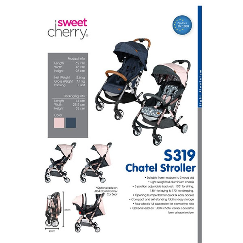 Chatel Stroller