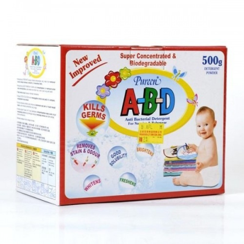 Pureen Abd Anti Bacterial Detergent (500g)